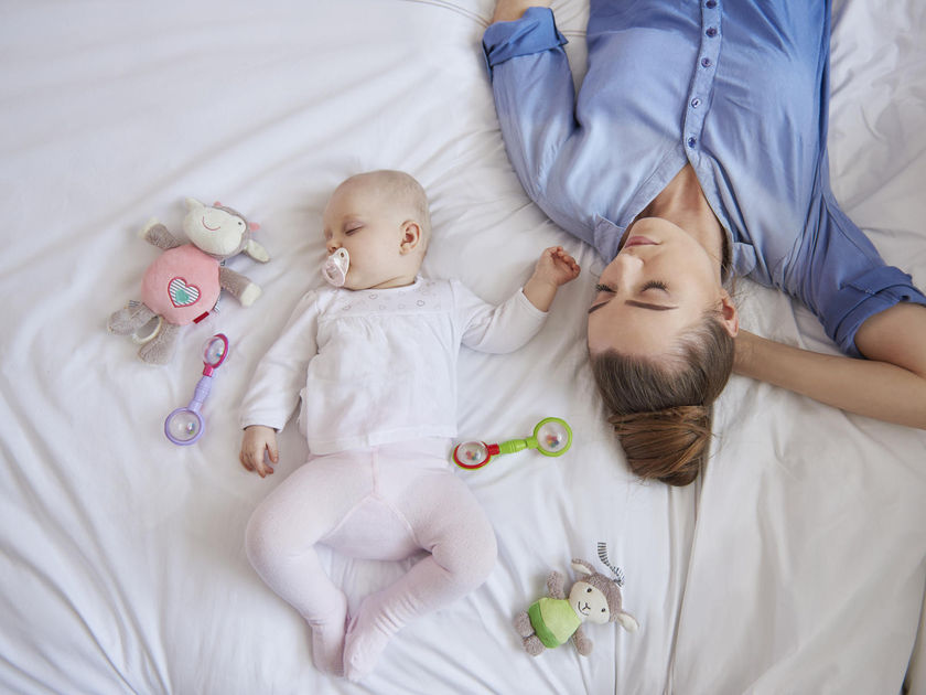خواب نوزاد و تامین امنیت و آرامش